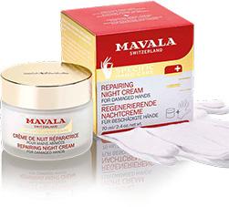 Mavala repairing night cream